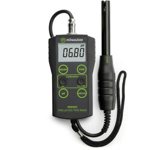 Milwaukee MW802 Smart 3 in 1 Portable Meter pH EC TDS MW802 $167.68