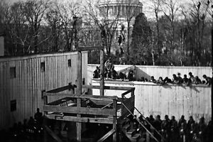 New 5x7 Civil War Photo: Execution of Henry Wirz of Andersonville Prison 1865 $4.99