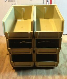 Lot of 6 Reloading Bins Replacement for Dillon 550650 Tan