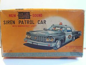 asc japan tin toy ford galaxie highway
