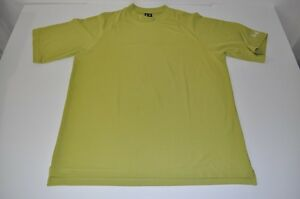 UNDER ARMOUR FITNESS SPORTS WORKOUT DRY FIT GREEN SHIRT MENS SIZE XL