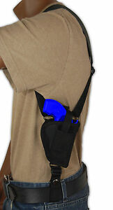 Barsony Gun Concealment Vertical Shoulder Holster for Colt 2