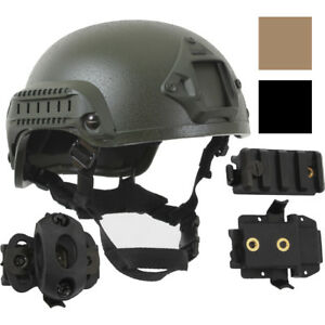 Tactical ABS Base Jump Airsoft Paintball Helmet & Accessories