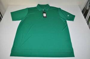 ADIDAS GOLF DRY FIT CLETIC GREEN POLO SHIRT MENS SIZE XL NEW