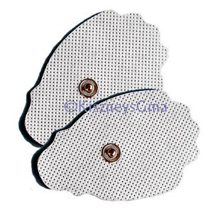 Replacement Massage Pads 4 Large for PALM Digital Massagers $8.07