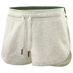 Women's Adidas by Stella McCartney Yoga Knit Shorts in White Vapour Size S