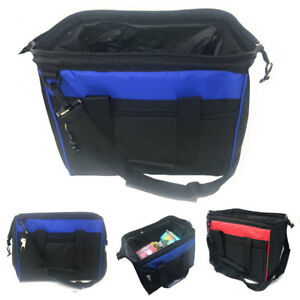 Big Large Cooler Lunch Box Bag Wide Mouth Straps Picnic Beer Drink Water 14quot;