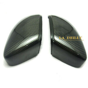 2PCS CARBON FIBER REAR R$L SIDE REPLACE MIRROR COVER for VW SCIROCCO 2009 2012 $79.36