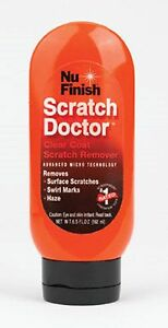 NU FINISH Scratch Doctor For All Painted Surfaces Including Clear Coat Finishes