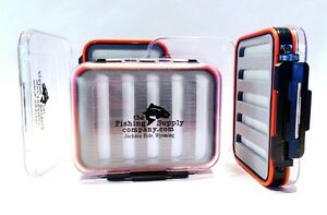 Fly Fishing box for your flies Waterproof Double Sided