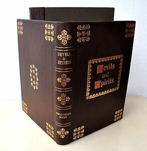 Devils & Spirits Treadwells Ed #714 Society Esoteric Endeavour Leather Grimoire