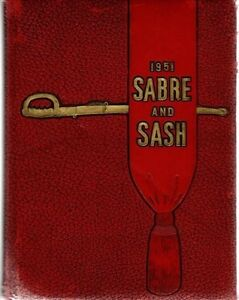 Pennsylvania Military College Chester 1951 Saber Sash Yearbook Annual University $45.00