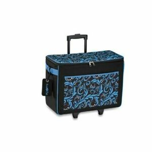 Brother Scan N Cut ScanNCut Rolling Tote Bag in Blue New