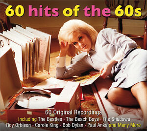 60 Hits Of The 60s VARIOUS ARTISTS Best Music Collection ESSENTIAL New 3 CD