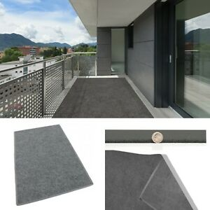 Gray Indoor Outdoor Area Rug Carpet Outdoor Use With Custom Sizing Available $82.68