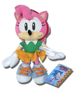REAL AUTHENTIC Great Eastern GE-7053 Sonic the Hedgehog - 9.5