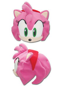 REAL  Amy Fleece Cosplay Cap (GE-2332) - Official Sonic the Hedgehog Series