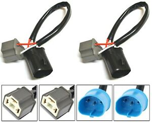 Conversion Wire 9004 HB1 TO 9003 HB2 H4 Two Harness Head Light Bulb Connector OE