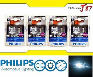 Philips X-Treme Vision LED 1156 S25 BA15s White 6000K 4.3W Eight Bulbs Replace