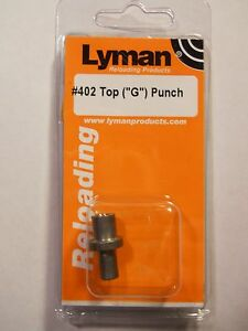 Lyman  #402 Top Punch (G)  #2786723 9mm38 TC see list of moulds