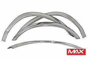 FTFD206 98 02 Ford Crown Victoria Mercury Grand Marquis Stainless Fender Trim $106.95