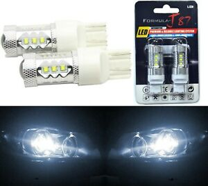 CREE LED Miniature 80W 7440 T20 Amber Orange Ten Bulbs Replacement Light JDM