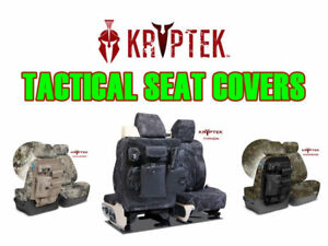 Coverking Kryptek Camo Tactical Front and Rear Seat Covers for Ram Trucks