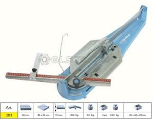 TILE CUTTER SIGMA 2B3 MACHINE PROFESSIONAL SERIE TECNICA CUTTING LENGHT 66 CM