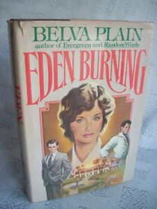 Eden Burning By Belva Plain 1982 HB