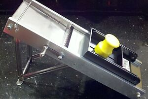 Mandoline slicer MVS-400 INCLUDES PUSHER BLOCK 4 SLICING OPTIONS