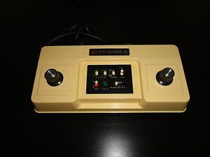 color tv game 6 system console original