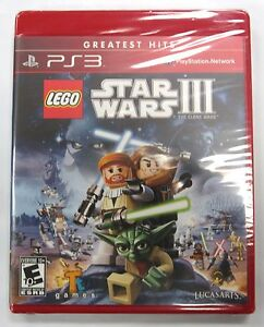 Lego Star Wars III for PlayStation 3 PS3 Brand New & Sealed *GREATEST HITS*