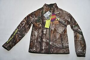 $140 UNDER ARMOUR BOYS YOUTH  COLDGEAR INFRARED SCENT CONTROL CAMO JACKET NEW