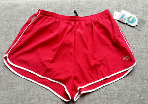 BROOKS Vibe GFS Womens Shorts Red & White AUS Size LARGE Running Brand New