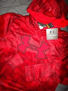 UNDER ARMOUR COLD GEAR CAMO HOODIE SIZE XL L MEN NWT $$$$