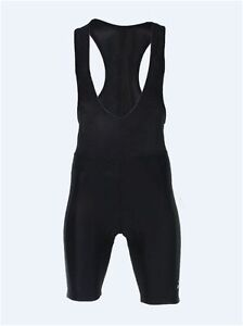 Cycling Bike Bib Shorts Tight Fit Men Padded Black Quick Dry Polyester Rogelli