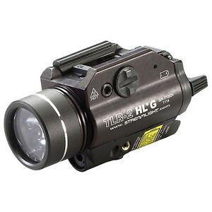 Streamlight TLR-2 HL G with White LED and Green Laser 260758