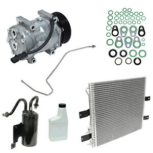 New UAC AC Compressor Kit 03-05 Dodge Ram 25003500 5.9 Diesel Turbo