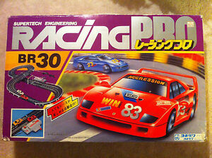 japan 1980 s slot car set supertech