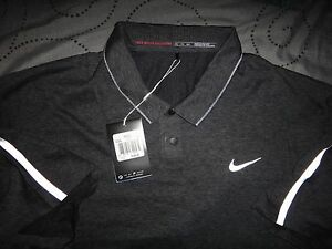 NIKE TIGER WOODS COLLECTION GOLF DRI-FIT POLO SHIRT XXL MEN NWT $105.00