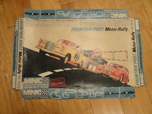 triang frontier post motor set rally in box
