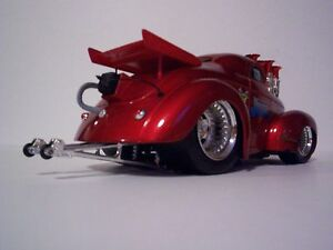 1941 obannon racing team 1 18 scale red slammed