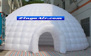 33'x33'x17' Inflatable igloo Tent Advertising Commercial Event Wedding Bar Party