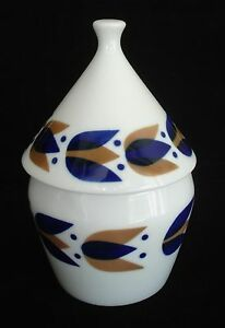 porcelain spain ceramic sugar or candy bowl with