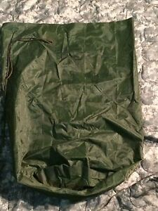 US Army Military WATERPROOF CLOTHES Clothing GEAR WET WEATHER LAUNDRY BAG VGC