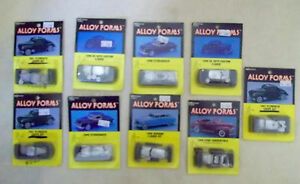9 alloy forms ho cars 1940 s new desoto