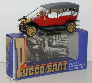 1 43 scale diecast ussr made model car russo