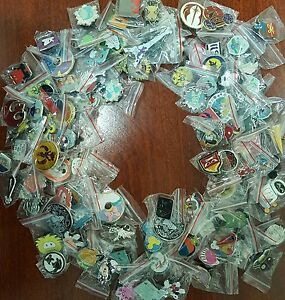 Disney Trading Pins 100 lot 1 3 Day Shipping 100% tradable no doubles $53.87