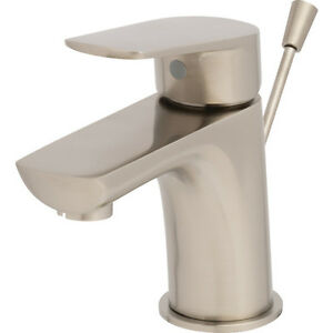Seasons Gramercy Park Brushed Nickel 1-Handle Bathroom Faucet With 5050 Pop-Up
