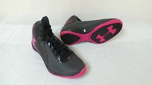 New! Under Armour Womens Micro G Torch Basketball Shoes-Style 1256436-002 89E la